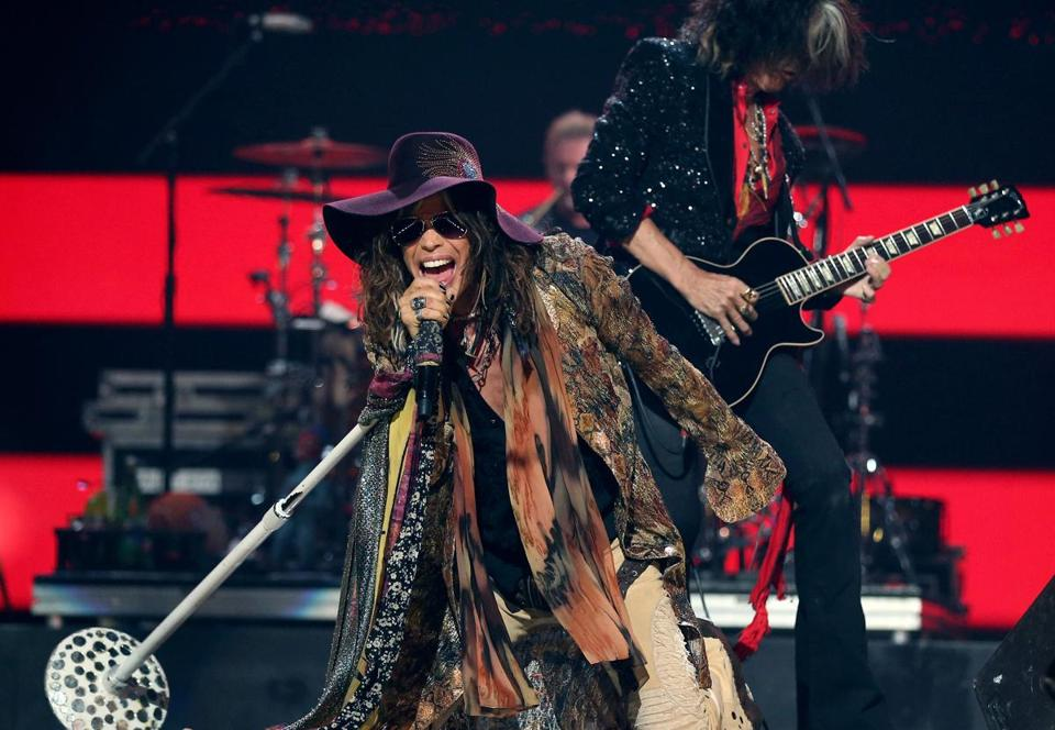 The chemistry between Steven Tyler and Joe Perry returns.